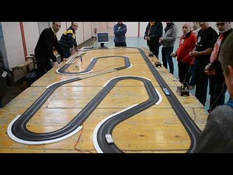 Gentlemen Drivers Slot Forum: Aubigny 10ans: circuit Jouef équipé Davic de David