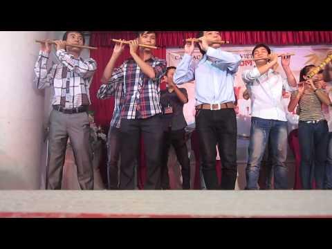 Việt Nam quê hương tôi - đồng diễn Ngày hội Tiêu sáo