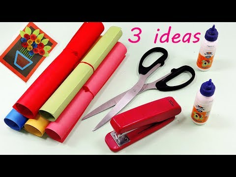 3 Genius Paper Craft Idea || DIY Home Decor with Paper || Wall Hanging