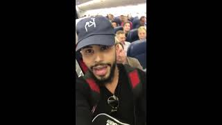 Adam Saleh Kicked Off Plane For Speaking Arabic