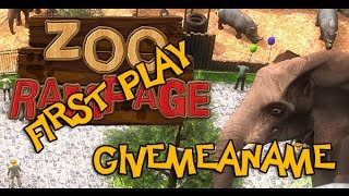 Zoo Rampage PC Gameplay HD - First Play