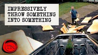 Impressively Throw Something Into Something | Full Task | Taskmaster