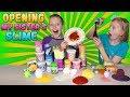 Opening Alyssa's Slime!!! Food Slime Challenge!
