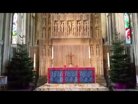 Inside Bristol Cathedral - Norman - Gothic - Architecture - Church of England