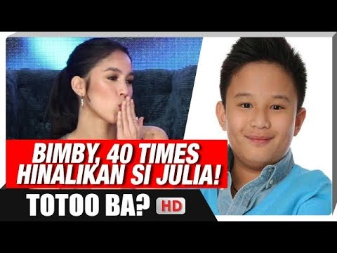 Bimby, 40 times hinalikan si Julia! |  'I Love You, Hater' Media Launch