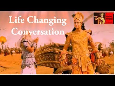 Lord Krishna Enlighten Bhishma In Mahabharat War Mahabharat Motivational Gyan Youtube