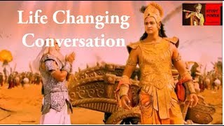 Lord Krishna Enlighten Bhishma in Mahabharat War | Mahabharat Motivational Gyan