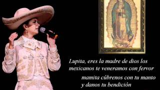 LUPITA Lucero -mañanitas virgen de Guadalupe- (letra) HD