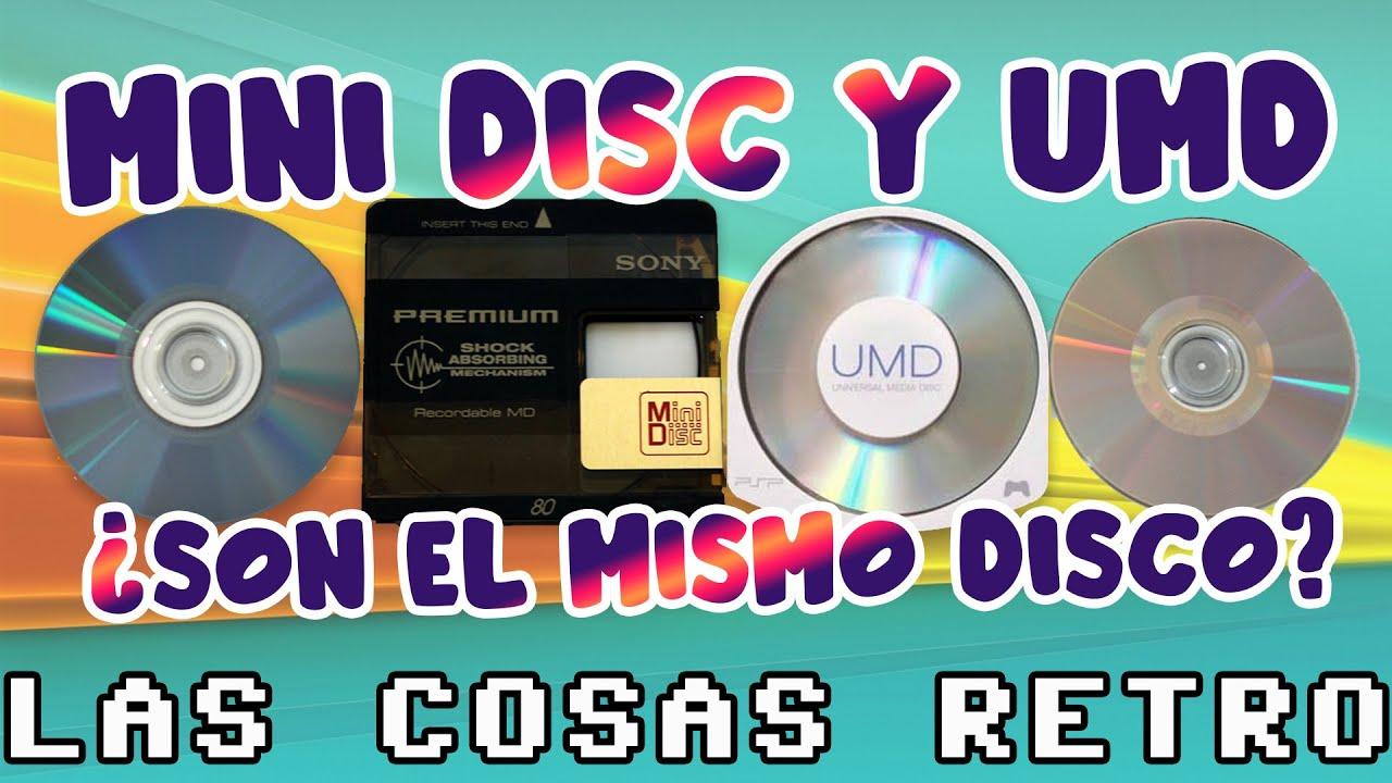 MiniDisc vs. UMD 💽 ¿Puede una PSP reproducir un MiniDisc? ¿Y un MiniDisc leer un UMD?