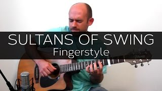 Sultans of Swing (Dire Straits) - Acoustic Guitar Solo Cover (Violão Fingerstyle)