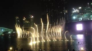 Dubai Fountain - Arabic