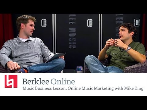 Best Practices for Online Music Marketing with Mike King