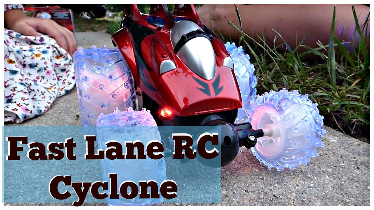 Fast Lane Remote Control Car | Cyclone RC Speedster - YouTube