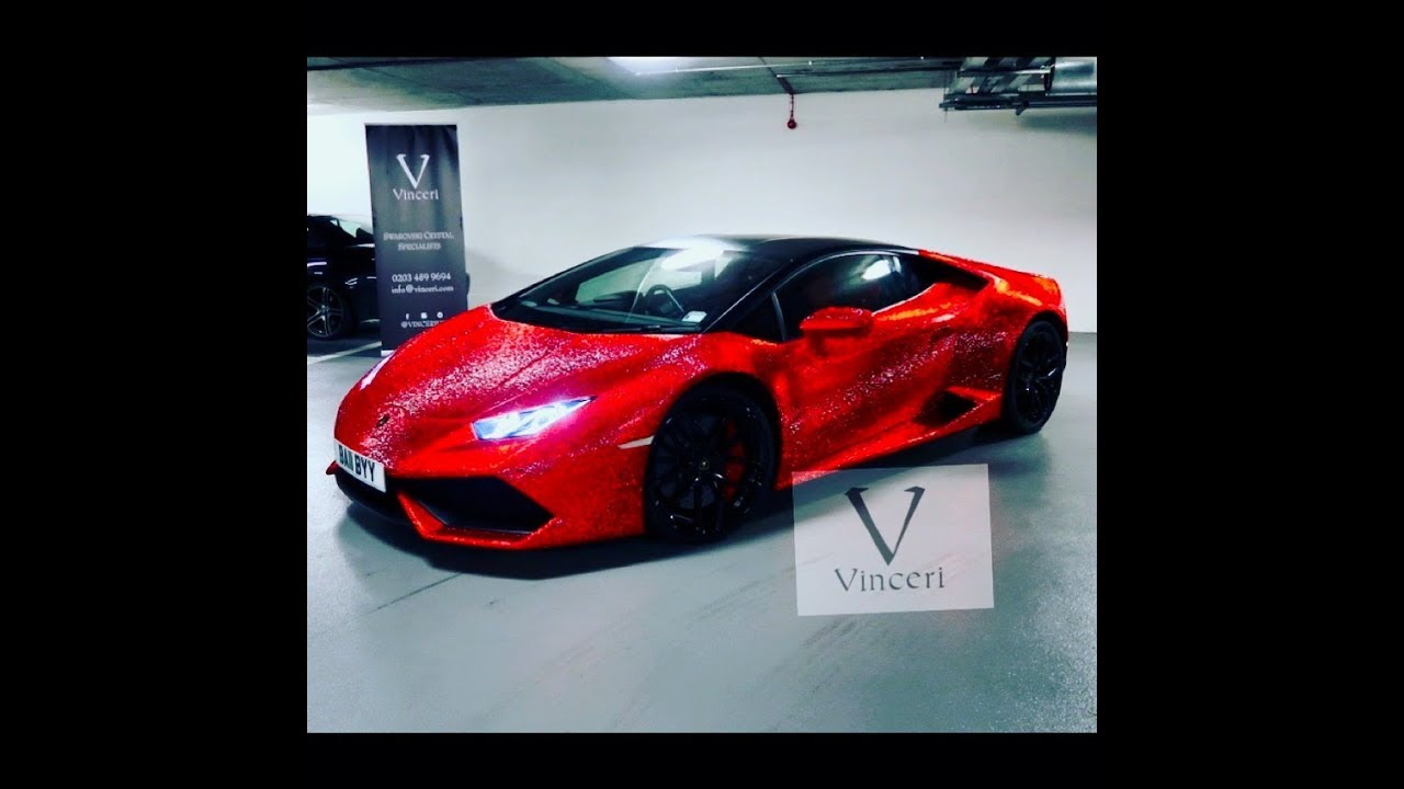 Worlds Most Insane Lamborghini Huracan With 1.3 Million Swarovski Crystals
