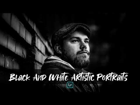 Awesome Artistic Black and White Portrait Editing Tutorial - 2019