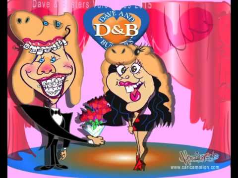 CARICAMATION AT DAVE & BUSTERS VALENTINES 2015!