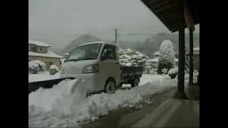 Repeat youtube video 除雪作業 軽トラ除雪車 スノープラウ