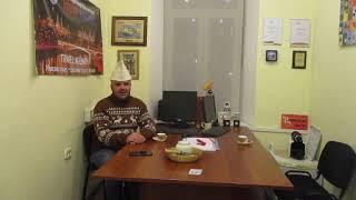 Voja Libro. Mi en mia oficejo en Moskvo urbo (Rusio)