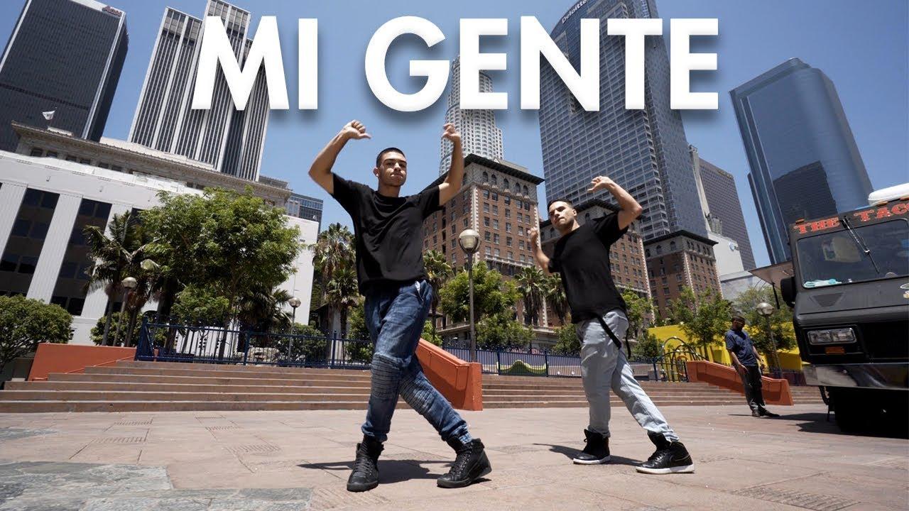 J Balvin Willy William Mi Gente Dance Video Choreography Mihrantv