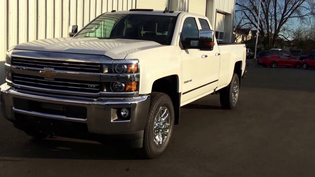 2017 Chevy Silverado Ltz 2500hd Double Cab Roy Nichols Motors Courtice On
