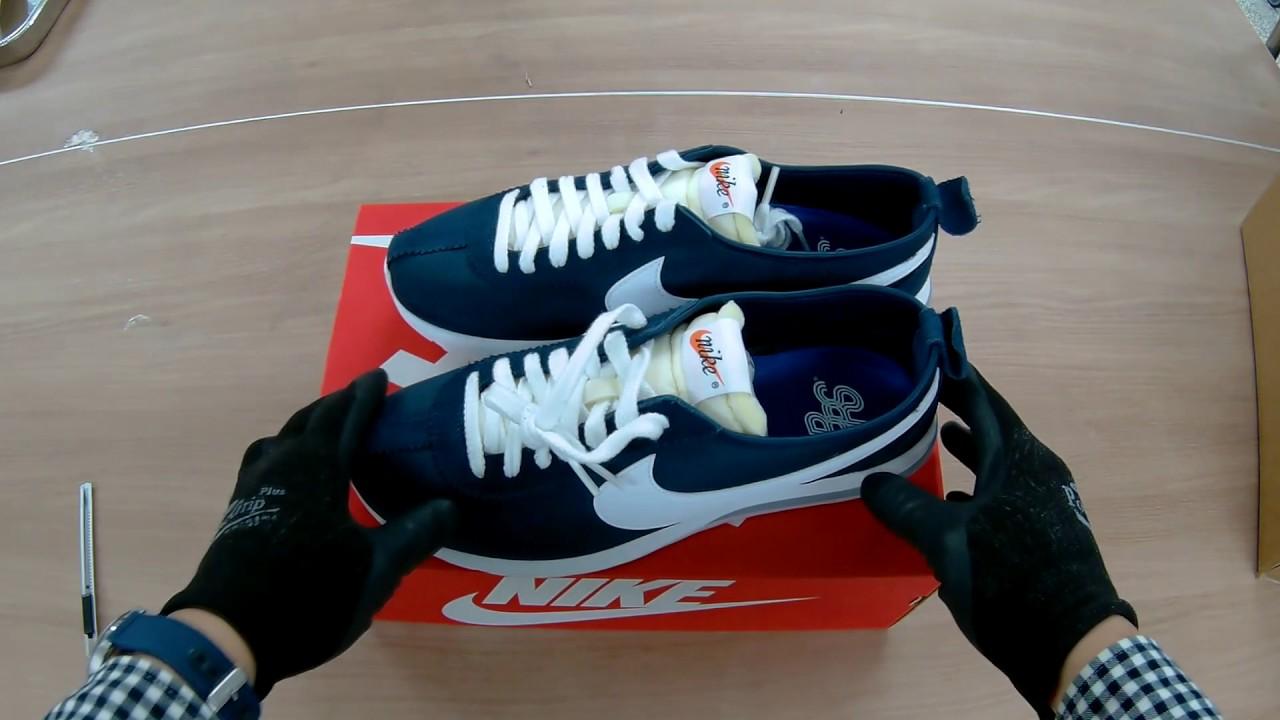 new concept dffc4 6d47a Unboxing Nike Roshe Cortez NM QS 823298-411 나이키 로쉐 코르테즈 ...