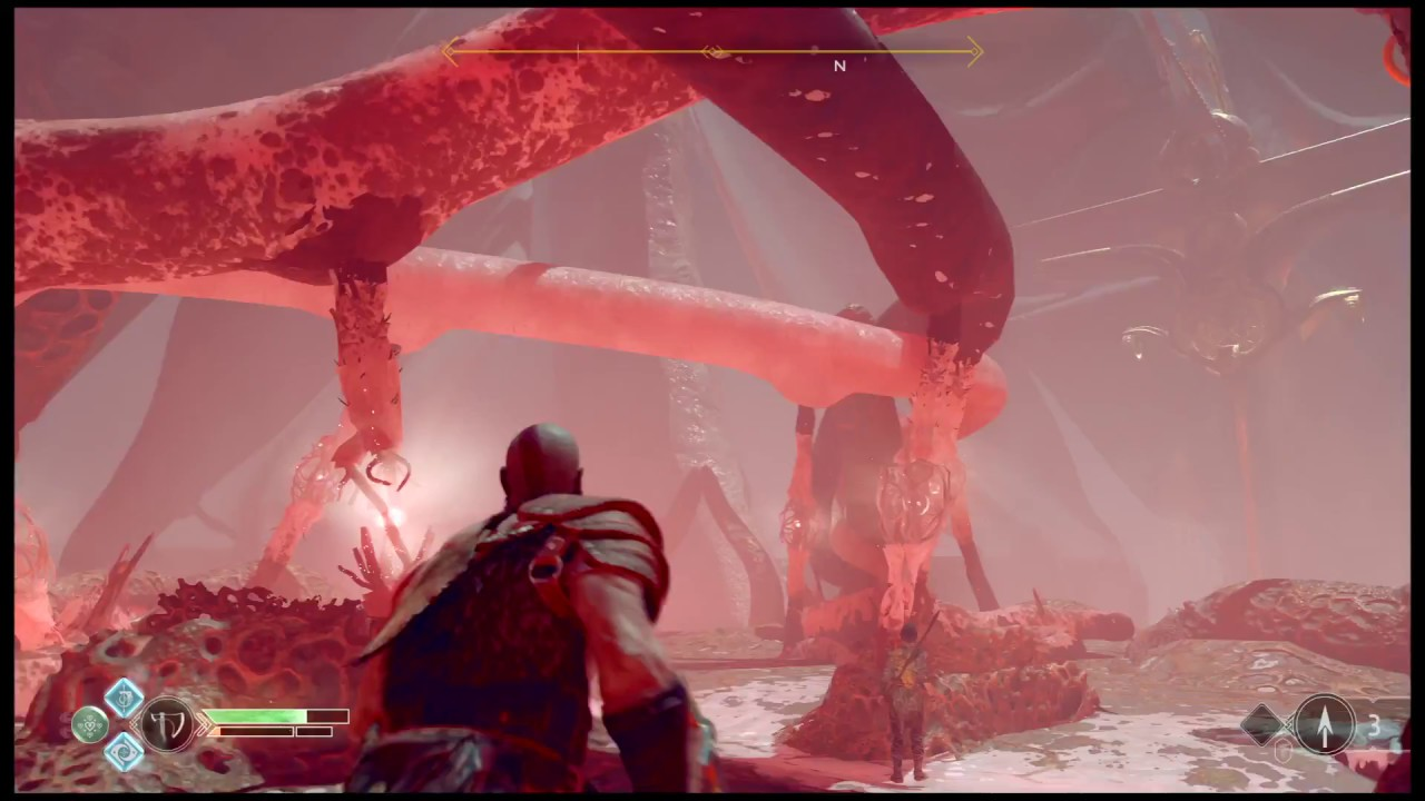 God Of War Breaking Into The Hive Puzzle
