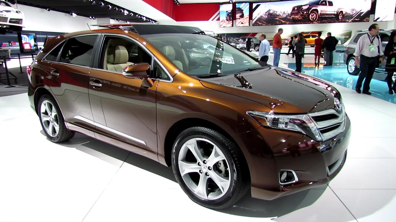 2013 toyota venza limited awd exterior and interior walkaround 2013 detroit auto show youtube