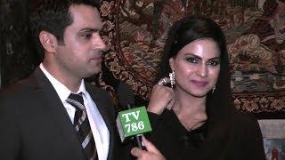 veena malik and her husband asad khattak s exclusive interview for tv786