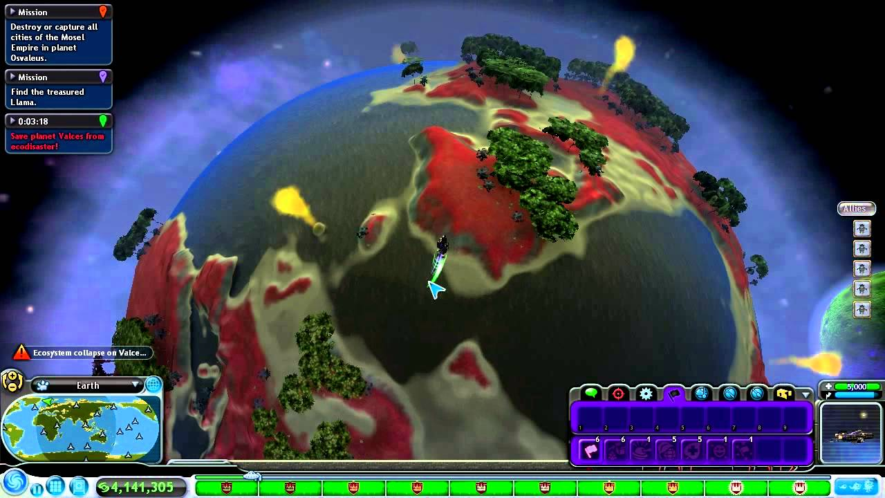 Finale Spore Space Stage Part 29 I Found Earth Youtube