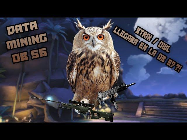 Paladins: Data Mining OB56 l Strix  ( Owl )  Llegara En La OB 57 ! l 4 Nuevas Skins !