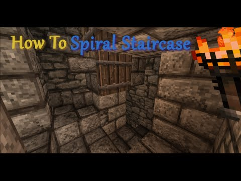 How To Spiral Staircase New 2x2 Design Youtube
