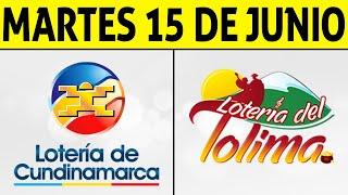 Resultados Lotería de CUNDINAMARCA y TOLIMA Martes 15 de Junio de 2021 | PREMIO MAYOR 😱💰🚨