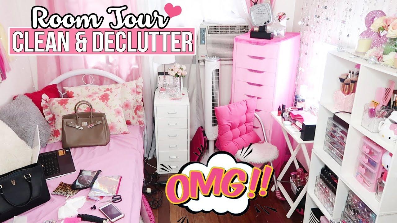 HOW TO CLEAN & DECLUTTER SMALL BEDROOM | Tips & Hacks
