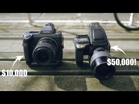 Hasselblad H6D 400c vs Fujifilm GFX 100: The Best Medium Format Camera ($50k camera vs $10k camera)