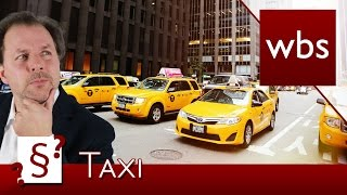 Darf mir die Taxi-Beförderung verweigert werden? | Rechtsanwalt Christian Solmecke