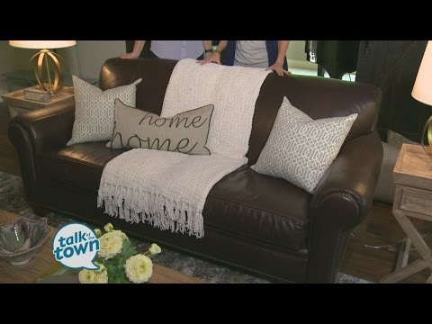 The Decorologist Kristie Barnett Showed Ways To Brighten Up Dark Sofa