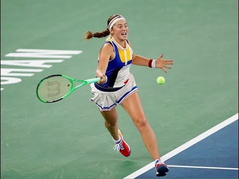 2017 Wuhan Third Round   Monica Puig vs. Jelena Ostapenko    WTA Highlights