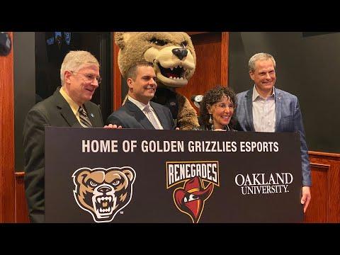 Oakland University Announces First D1 Varsity Team in Michigan & Renegades Partnership