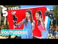 5 Types of Youtubers! Ft. Sophie Michelle