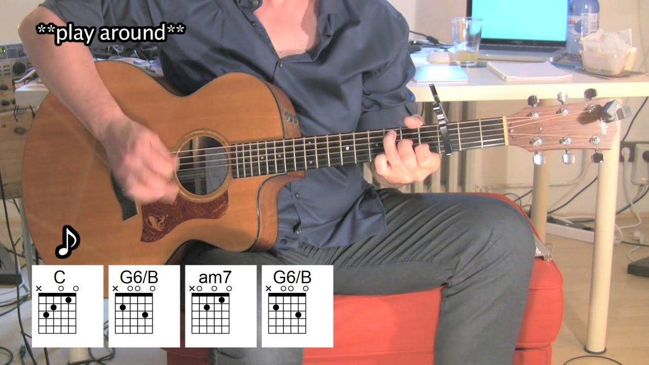 Landslide Acoustic Guitar Fleetwood Mac Chords Youtube