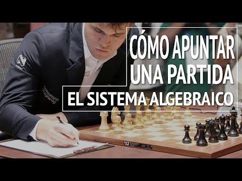 Cómo apuntar una partida de ajedrez: el sistema algebraico | Notación algebraica
