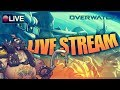 Playing Competitive overwatch with Anime 2090 & subscribers