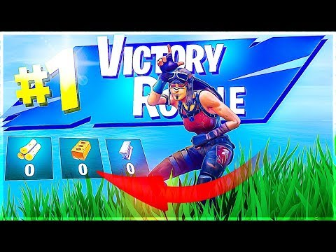 HOW TO PLAY WHEN YOU HAVE NO MATS!! SOLO 21K Game - Fortnite