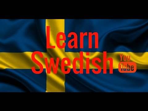 Learning Swedish -  Useful Words