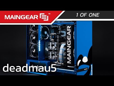 deadmau5 x MAINGEAR collab - 1ofONE Custom Gaming PC