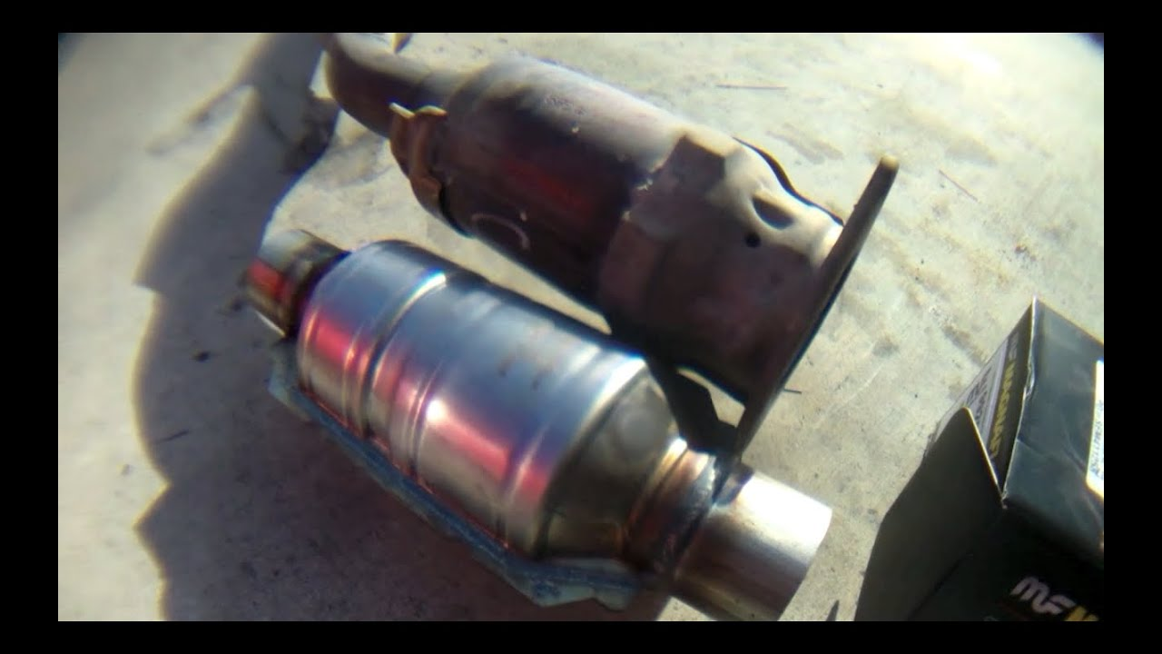1999 toyota camry exhaust system diagram 2002 celica stereo wiring detailed catalytic converter replacement corolla √ - youtube