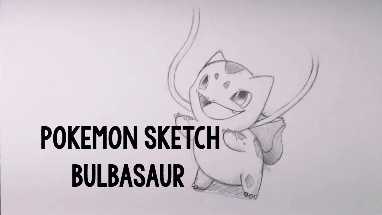 Pokemon Sketch Bulbasaur
