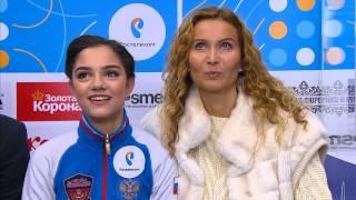 Лучшие моменты третьего соревновательного дня Чемпионата России по фигурному катанию 2017