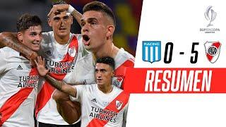 ¡MÁQUINA Y SUPERCAMPEÓN! | Racing 0-5 River | RESUMEN