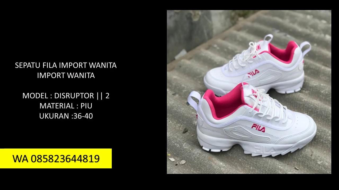 WA+085823644819 PRODUSEN sepatu fila anak original BEKASI. Distributor Sepatu  Fila Disruptor 2 Harga Termurah 01c326cb41